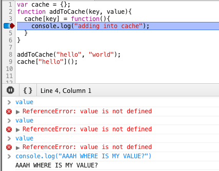 Chrome debugger and Firebug surprises - blog by @johnkpaul